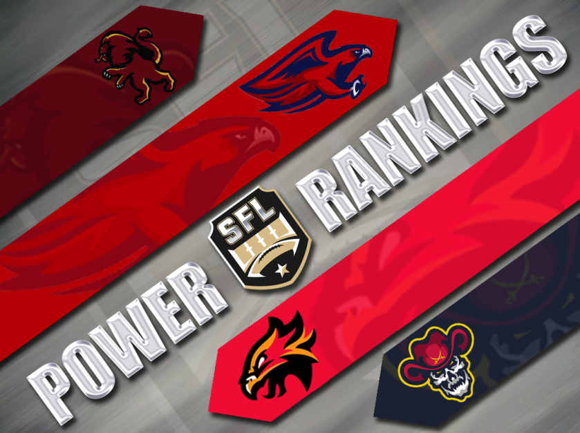 SFL Season 12 Power Rankings: Week Eleven