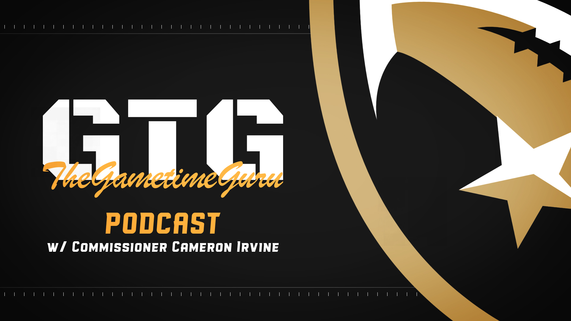The Gametime Guru interviews Cameron Irvine