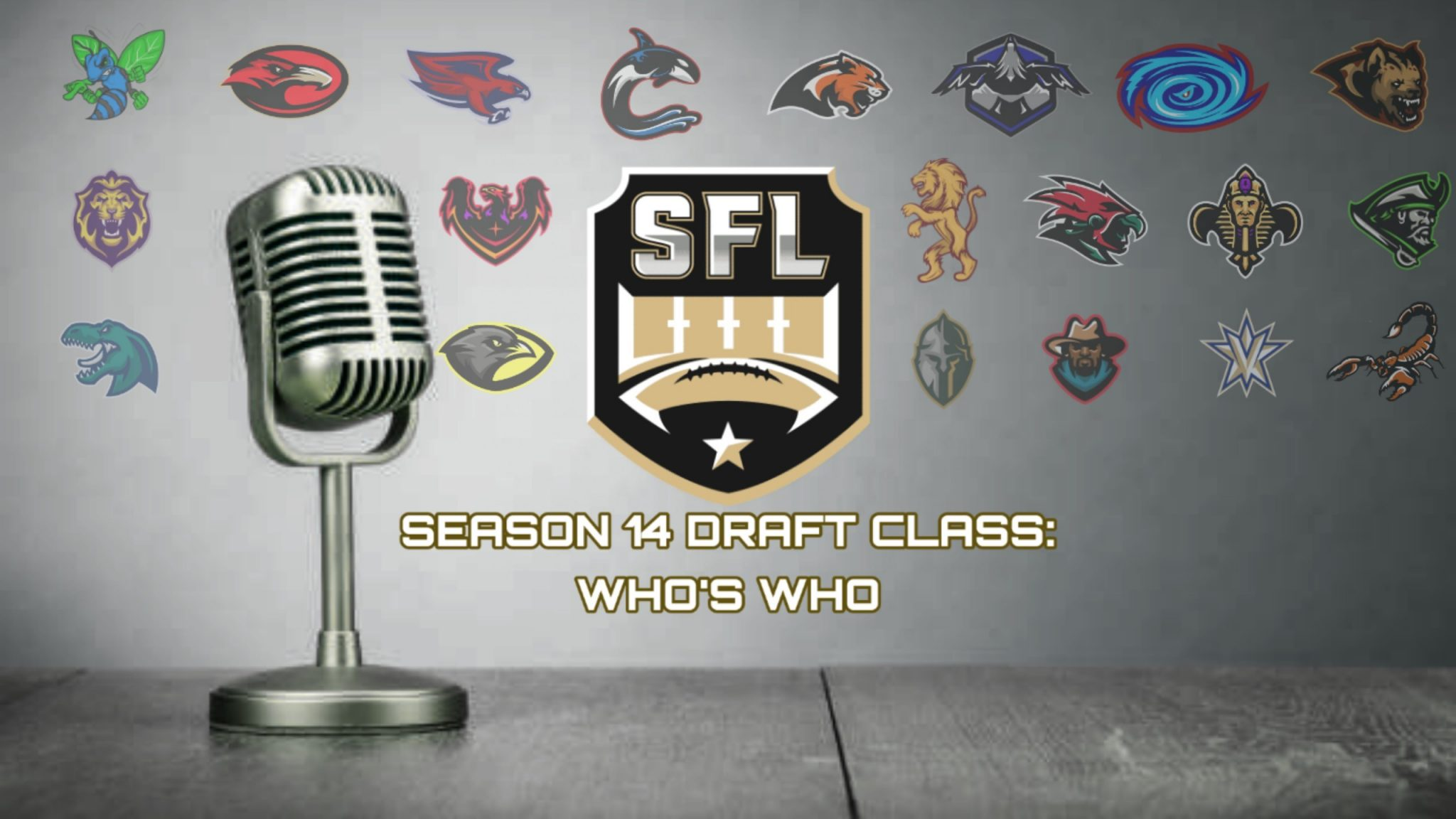 Meet the Season 14 Draft Class: Who's Who Part VI